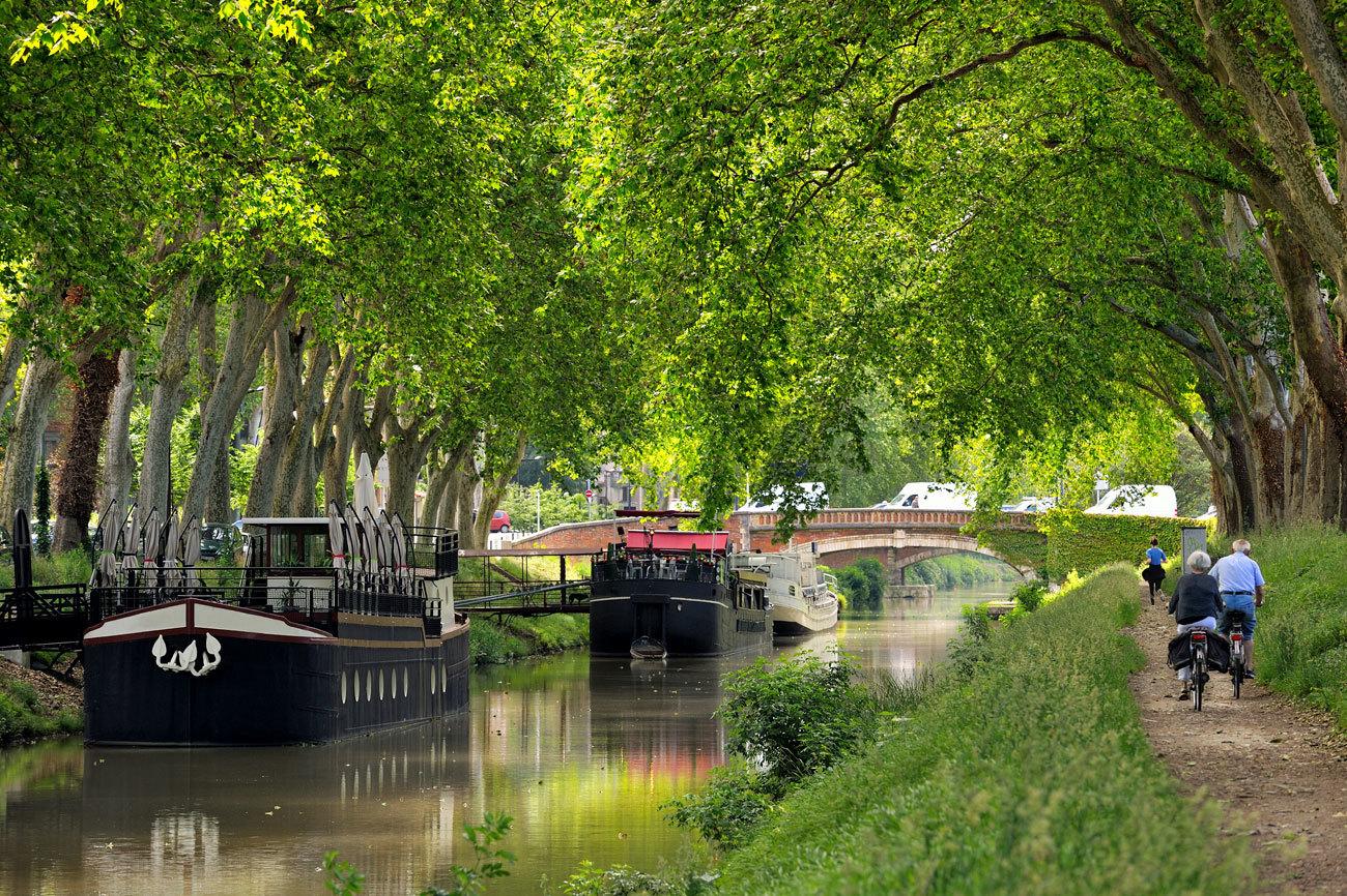 El Canal de Midi, Patrimonio Mundial de la Humanidad por la Unesco...