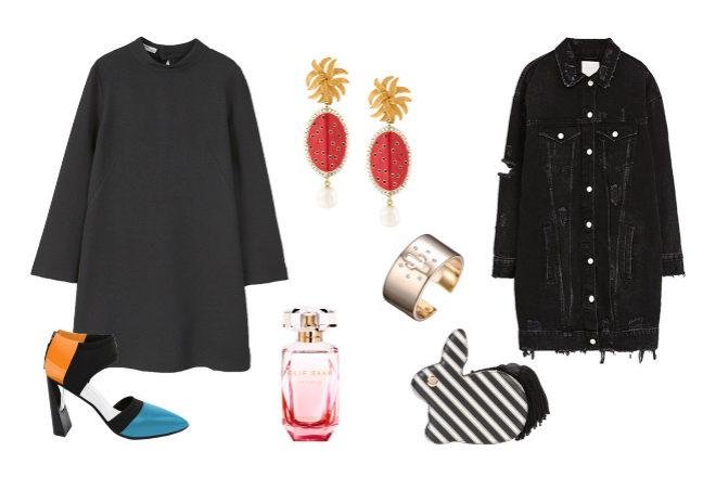 El 'look' del viernes  vestido (corto) negro  8e977dcf3849