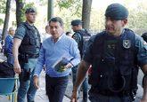 Ignacio González, el día de su detención el pasado 19 de abril,...