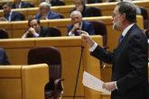 Mariano Rajoy, este martes, contesta a la oposición en el Senado.
