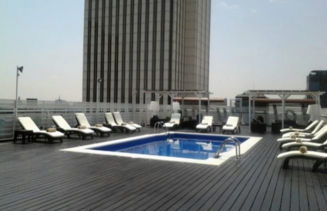 piscina Holiday Inn Azca