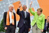 El ex presidente estadounidense participó en un acto multitudinario...