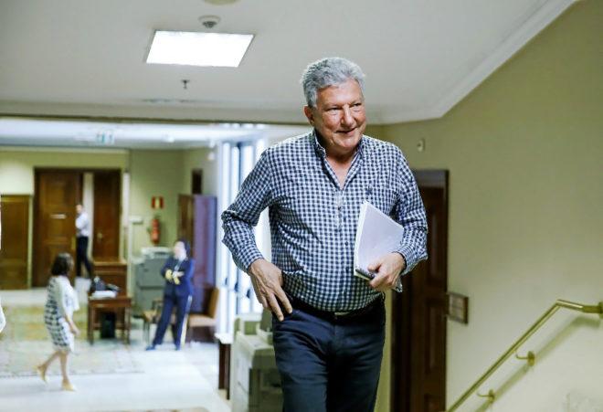El diputado de Nueva Canarias, Pedro Quevedo.