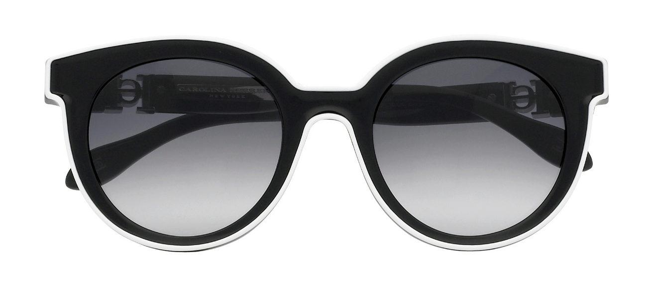 Gafas de sol redondeadas con marco grueso de CHNY | Yodona/moda | EL ...