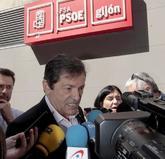El presidente de la Comisión Gestora del PSOE, Javier Fernández,...
