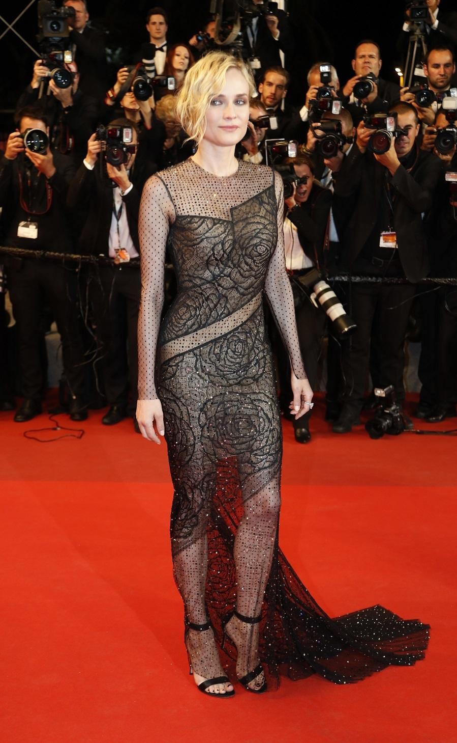 Diane Kruger y su sexy vestido de Jason Wu en Cannes 2017