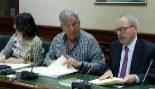 El diputado de Nueva Canarias, Pedro Quevedo, en el Congreso de los...