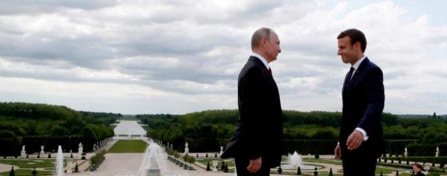 Macron planta cara a Putin