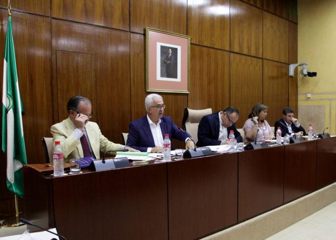 Jiménez Barrios, este jueves en comisión parlamentaria.