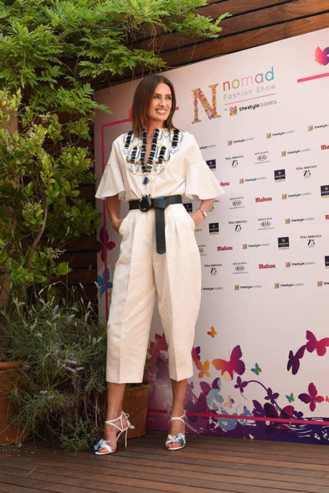 Nieves Álvarez durante la inauguración de Nomad Madrid. Foto  Patricia Blas 3e29b298c149