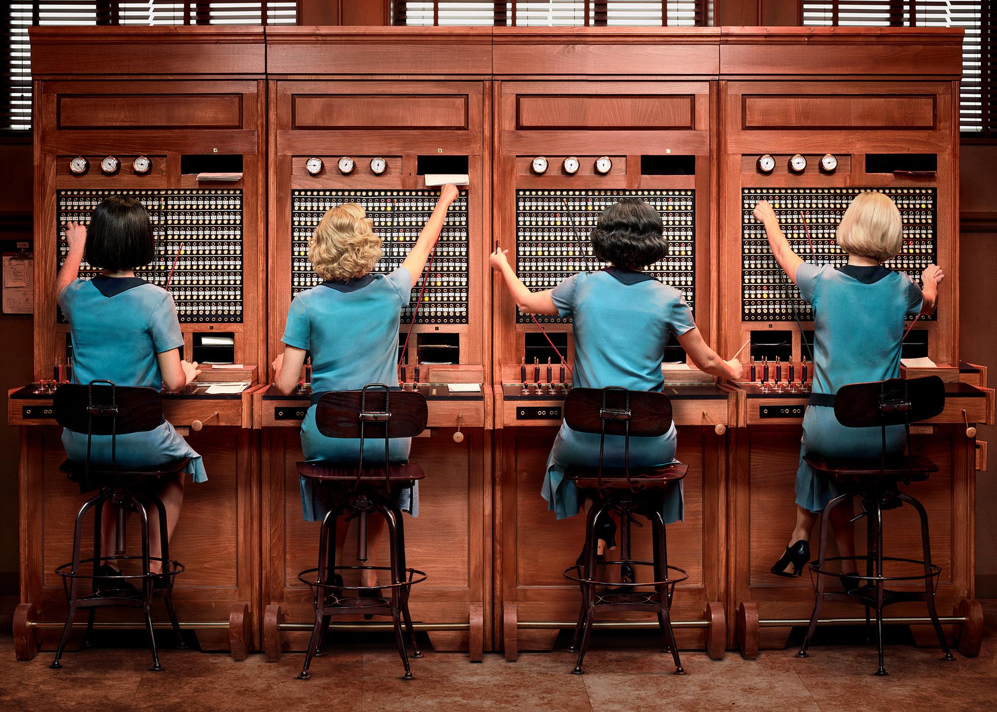 Imagen de 'Las chicas del cable', la primera serie española de...