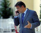 El ministro de Justicia, Rafael Catalá, en un acto celebrado este...