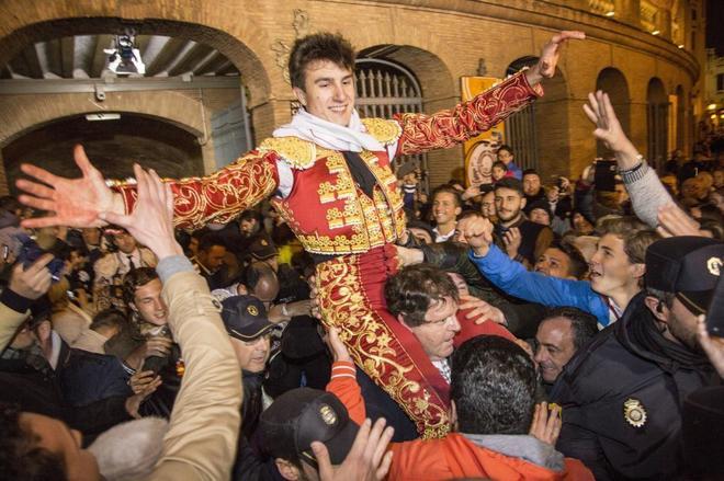 Varea destacó como novillero y esta tarde confirma en Las Ventas