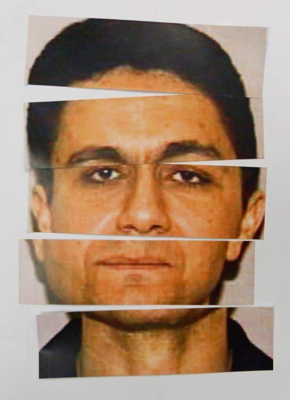 Montaje con el rostro de Mohamed Atta, cabecilla de los atentados del 11-S.