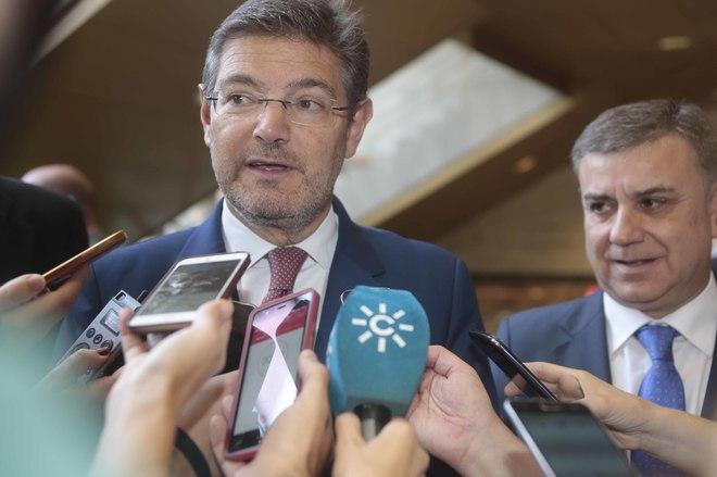 El ministro de Justicia, Rafael Catalá, durante un acto en Granada.