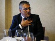 El fundador de Funnydent, Cristóbal López, durante una entrevista.