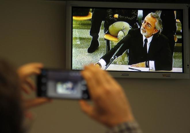 Francisco Correa declara en el juicio de Gürtel en octubre del año...