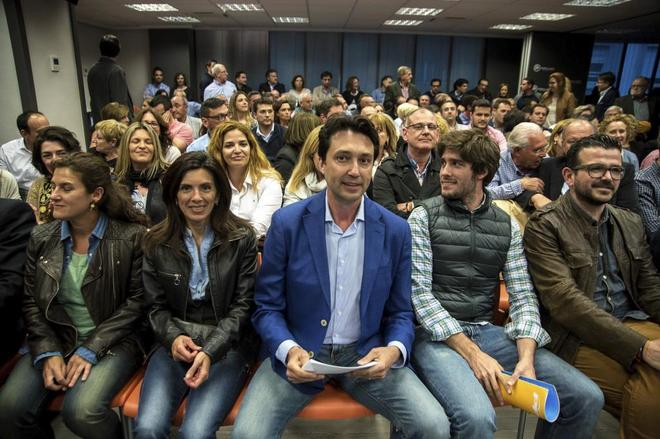 El presidente del Partido Popular de la provincia de Valencia, Vicente...
