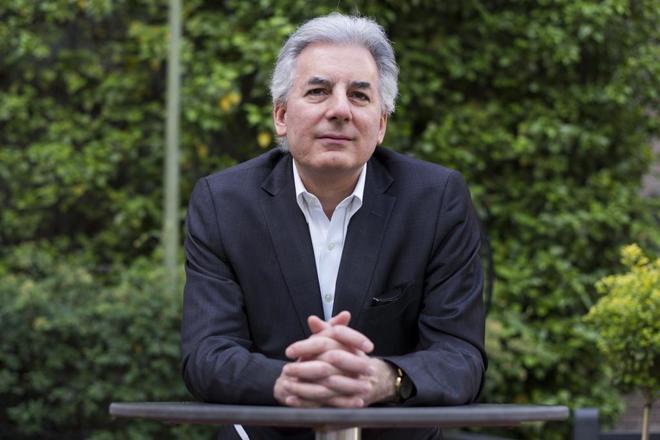 El escritor Álvaro Vargas Llosa, ayer, en Casa de América, Madrid.