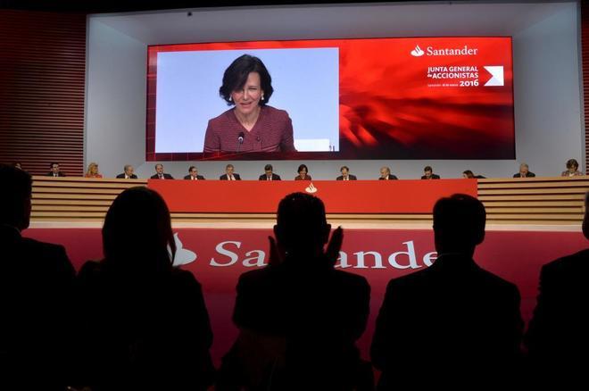 La presidenta del Banco Santander, Ana Patricia Botín.