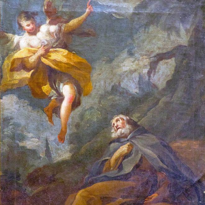 La restauración confirma que 'El éxtasis de San Antonio Abad' es obra de Francisco de Goya