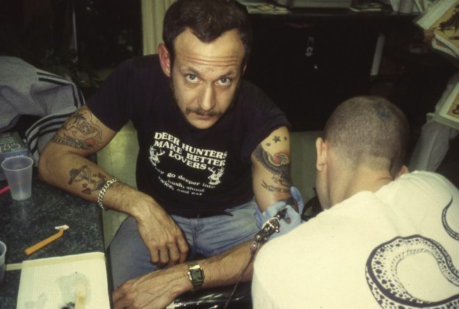 Terry Richardson Gets Tattooed.