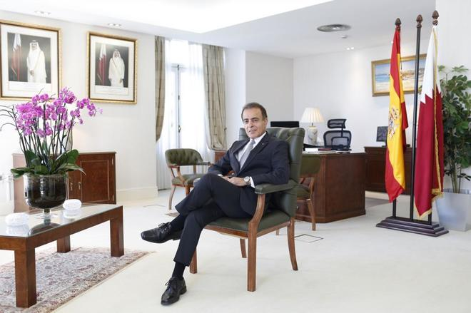 El embajador de Qatar en España, Mohammed Jaham Al Kuwari.