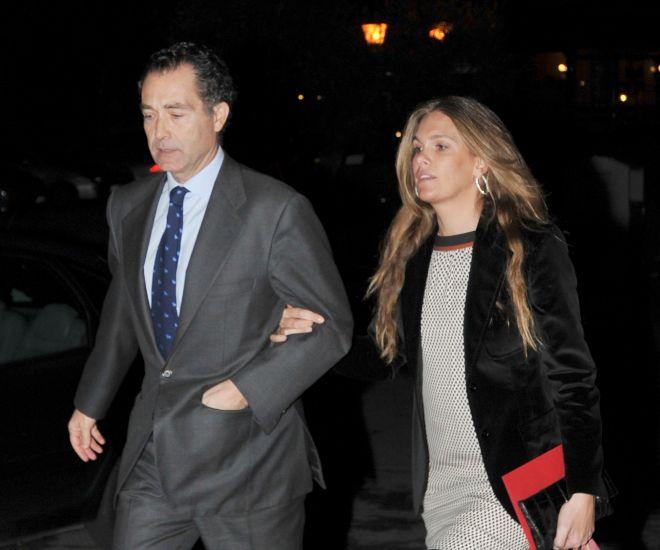 Ricky Fuster y su mujer, Mónica Sánchez Navarro, en una imagen de archivo
