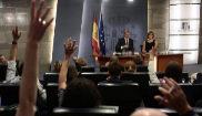 El portavoz del Gobierno, Íñigo Méndez de Vigo, en rueda de prensa...