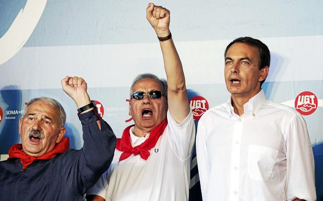 El fiscal Anticorrupción investiga al Gobierno de Zapatero por ayudas a ex líderes de  UGT