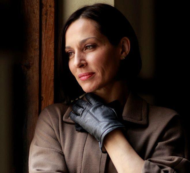La actriz Natalia Millán.
