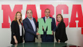 Gema Monjas, directora de Marketing de 'Marca', Juan Carlos del Olmo,...