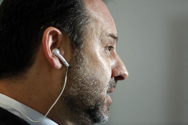 José Luis Ábalos, durante una entrevista reciente.