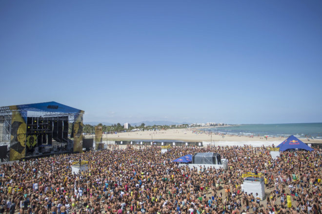 Los conciertos del arenal sound de nuevo en la playa de - Puerto burriana ...