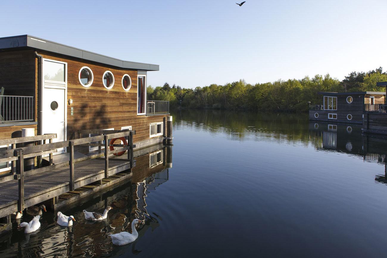 Además de bungalows, el Center Parcs De Kempervennen cuenta con diez...
