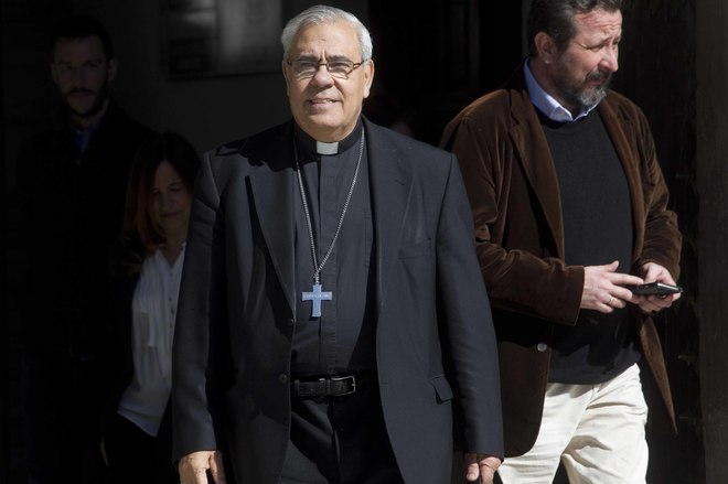 Resultado de imagen de javier martinez arzobispo