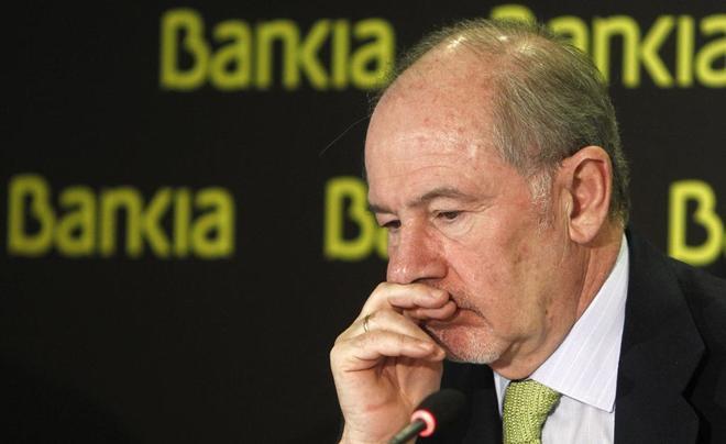 El ex presidente de Bankia Rodrigo Rato.