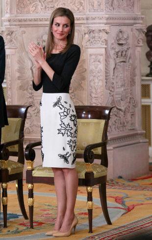 La falda lápiz, un extra de sofisticación