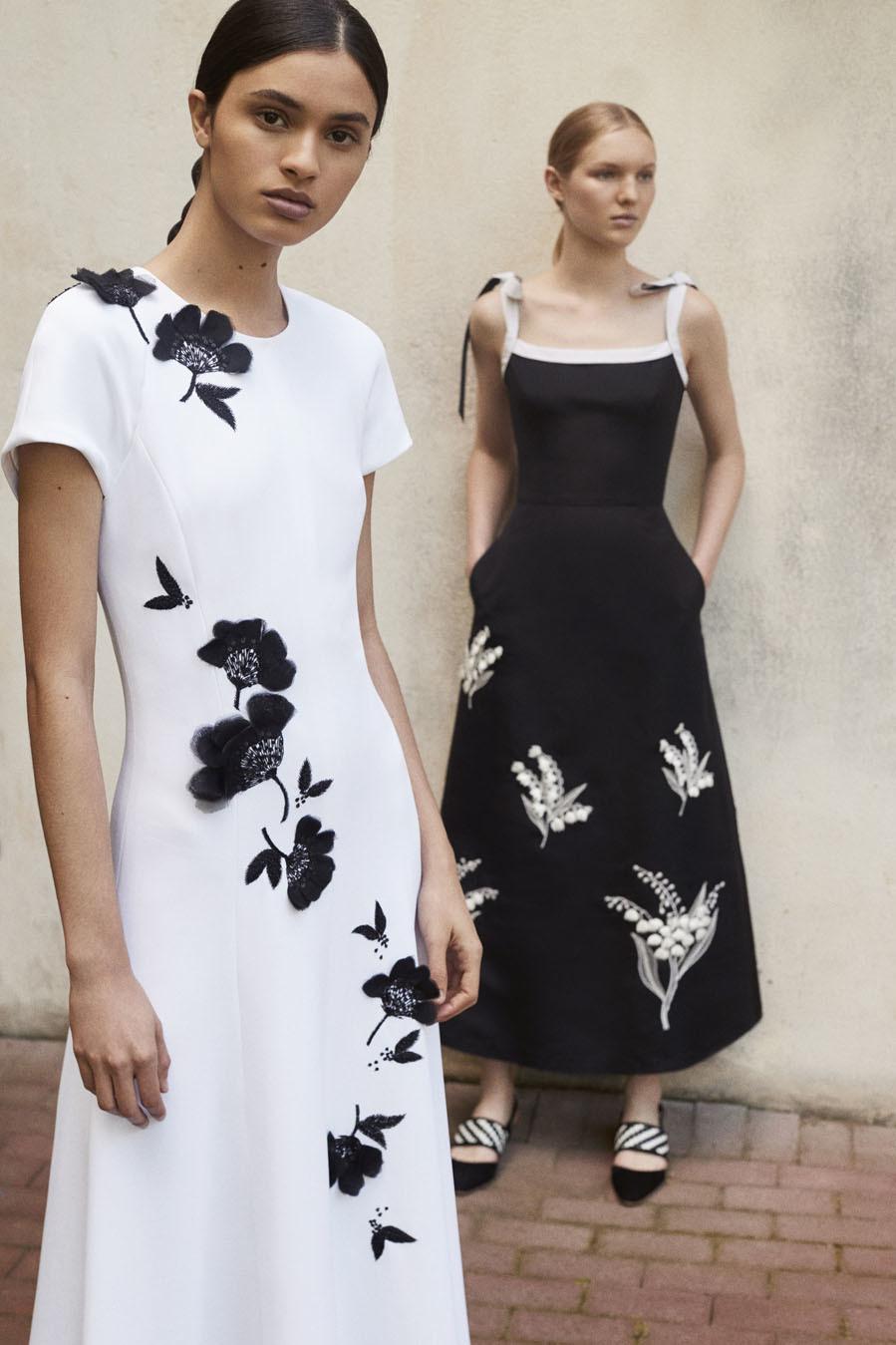 d2208de30b Colección Resort 2018 de Carolina Herrera: vestidos con estampados de flores