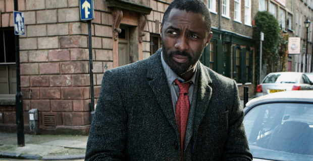 El actor Idris Elba, en la serie 'Luther'.