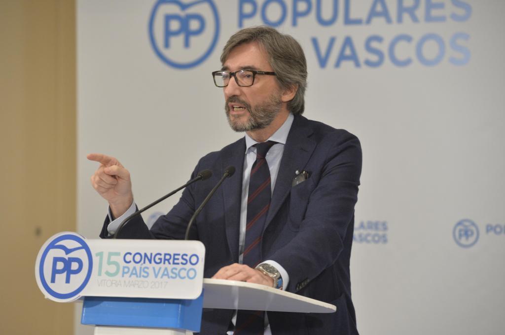 Iñaki Oyarzábal, presidente del PP de Álava.