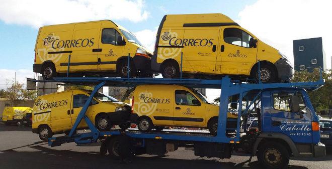 Motos Furgonetas Y Camiones De Correos A Subasta Motor El Mundo