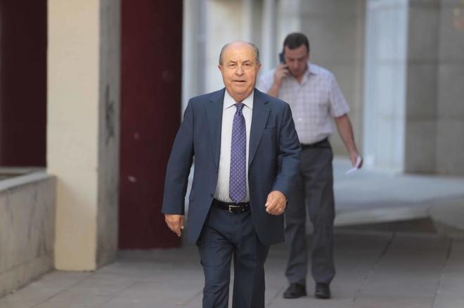 El ex alcalde Torres Hurtado, el día que declaró como investigado por la Casa Ágreda.
