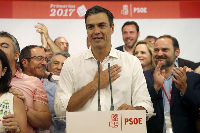 Pedro Sánchez vuelve a casa