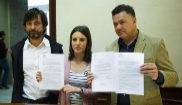 Representantes de Podemos registran una proposición no de ley para...