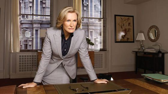 Glenn Close, en 'Daños y perjuicios' ('Damages').