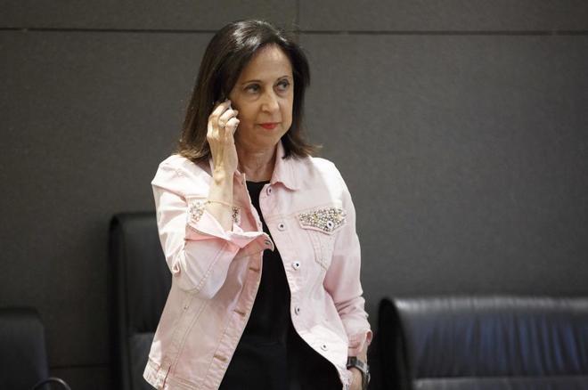 Margarita Robles, en la comisión de Justicia del Congreso de los...