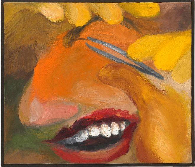 Sin título' (1962), óleo sobre lienzo.