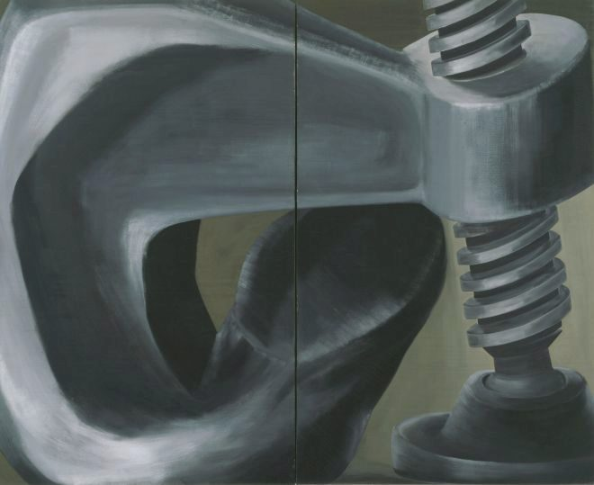 'Sin título' (1962), óleo sobre lienzo.