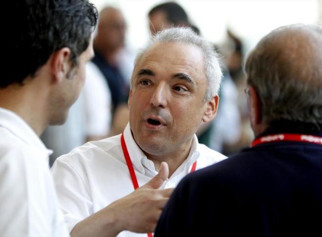 Rafael Simancas, en el Congreso del PSOE celebrado este fin de semana...